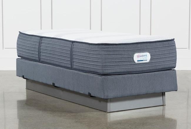 Brayton Plush Twin Extra Long Mattress And Foundation - 360
