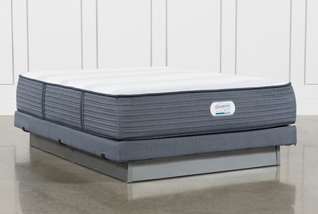 Brayton Plush Queen Mattress And Low Profile Foundation