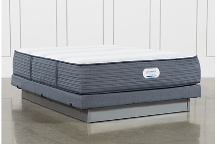 Brayton Plush Queen Mattress And Low Profile Foundation - Main