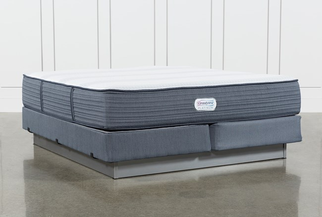 Brayton Plush Eastern King Mattress And Foundation - 360
