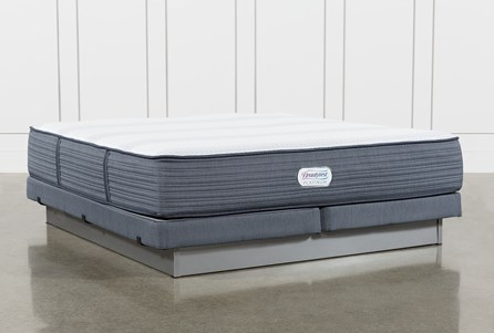 Brayton Plush California King Mattress And Low Profile Foundation