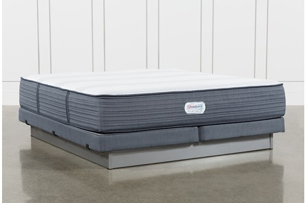 Brayton Plush California King Mattress And Low Profile Foundation - Main