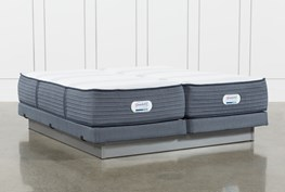 Brayton Plush California King Split Mattress And Low Profile Foundation