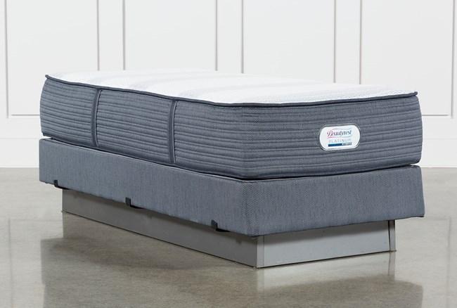 Brayton Medium Twin Extra Long Mattress And Foundation - 360