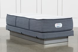 Brayton Medium Twin Extra Long Mattress And Low Profile Foundation