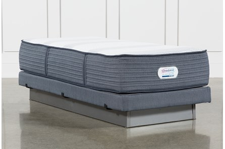 Brayton Medium Twin Extra Long Mattress And Low Profile Foundation - Main