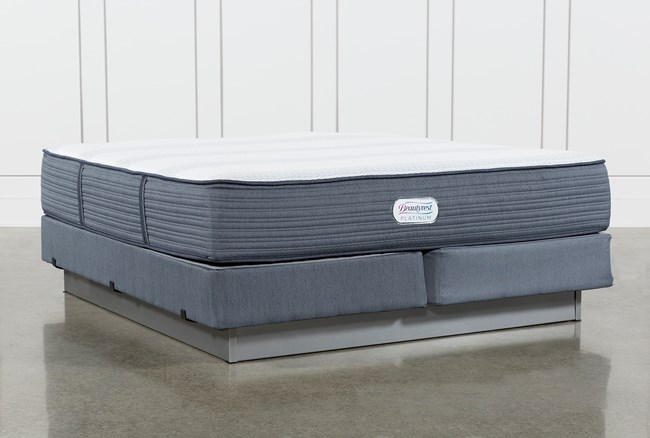 Brayton Medium Eastern King Mattress And Foundation - 360