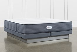 Brayton Medium Eastern King Mattress And Low Profile Foundation