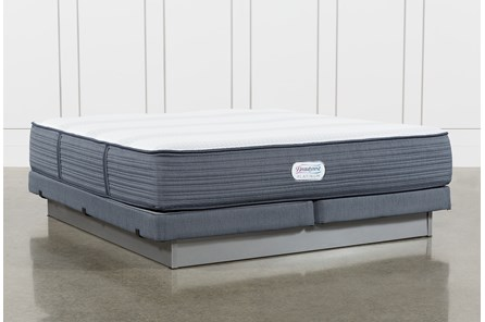 Brayton Medium Eastern King Mattress And Low Profile Foundation - Main