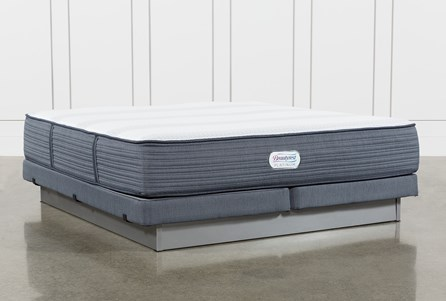 Brayton Medium California King Mattress And Low Profile Foundation