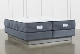 Brayton Medium California King Split Mattress And Foundation