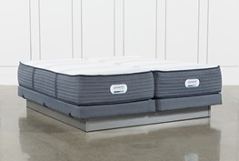 Brayton Medium California King Split Mattress And Low Profile Foundation