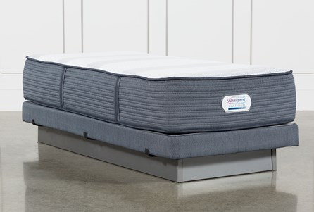 Brayton Firm Twin Extra Long Mattress And Low Profile Foundation