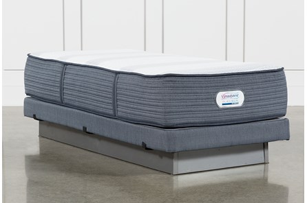 Brayton Firm Twin Extra Long Mattress And Low Profile Foundation - Main