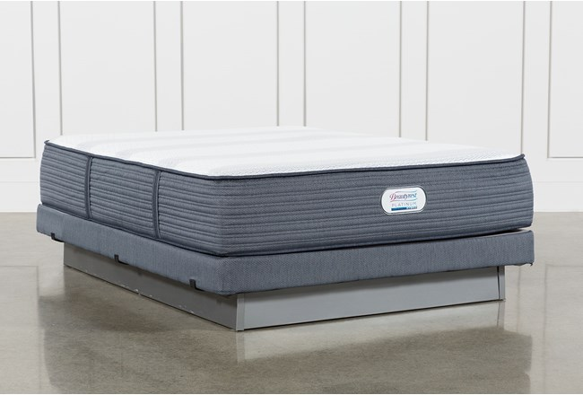 Brayton Firm Queen Mattress And Low Profile Foundation - 360
