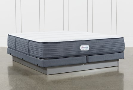 Brayton Firm Eastern King Mattress And Low Profile Foundation