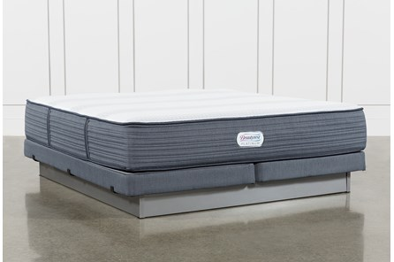 Brayton Firm Eastern King Mattress And Low Profile Foundation - Main