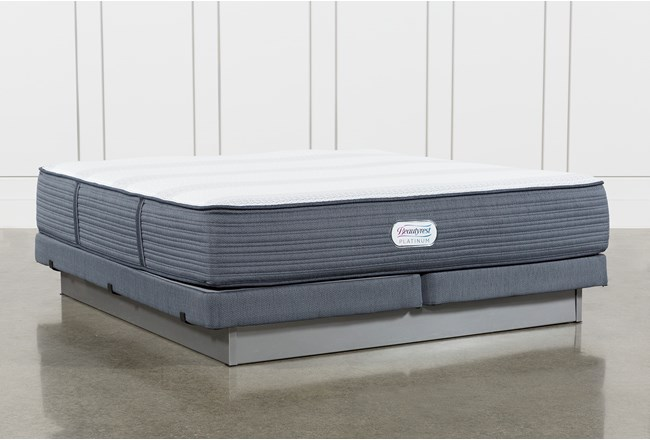 Brayton Firm Eastern King Mattress And Low Profile Foundation - 360