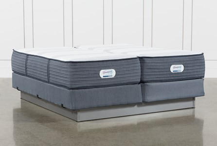 Brayton Firm California King Split Mattress And Foundation