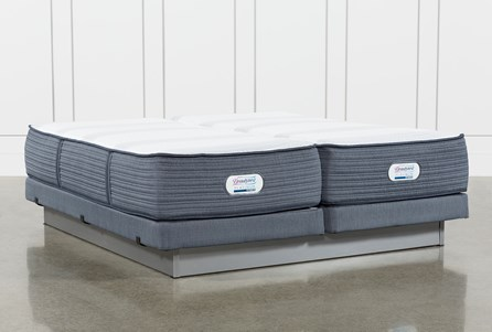Brayton Firm California King Split Mattress And Low Profile Foundation