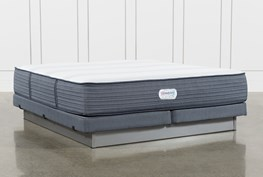Brayton Firm California King Mattress And Low Profile Foundation