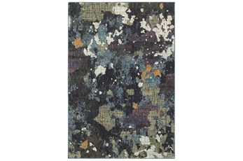 120X158 Rug-Marshall Blue And Fern