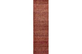 30X144 Rug-Maralina Pattern Persimmon