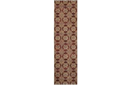 30X144 Rug-Tile Red