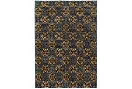 120X158 Rug-Tile Indigo