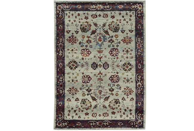 120X158 Rug-Mariam Moroccan Stone/Red - 360