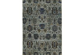 "10'x13'1"" Rug-Yasmine Moroccan Blue/Olive"