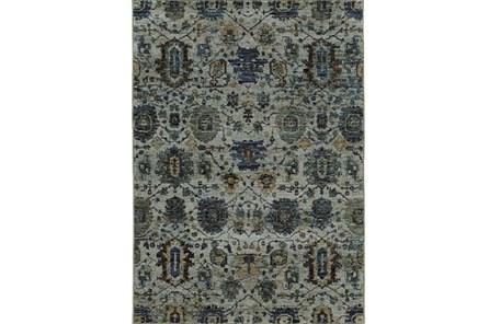 120X158 Rug-Yasmine Moroccan Blue/Olive