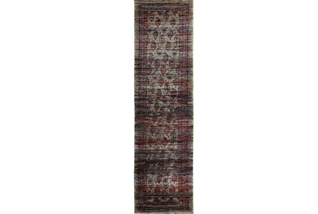 30X144 Rug-Elodie Moroccan Red