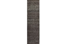 30X144 Rug-Maralina Pattern Charcoal