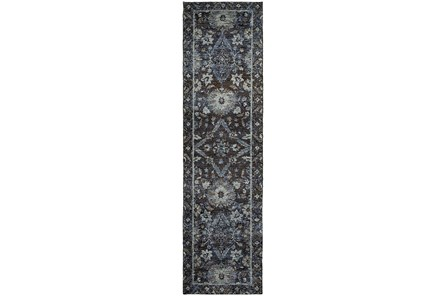 30X144 Rug-Ines Moroccan Blue