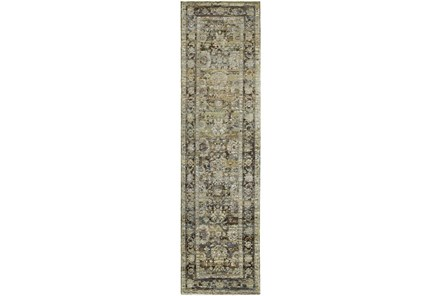 30X144 Rug-Mariam Moroccan Olive - Main