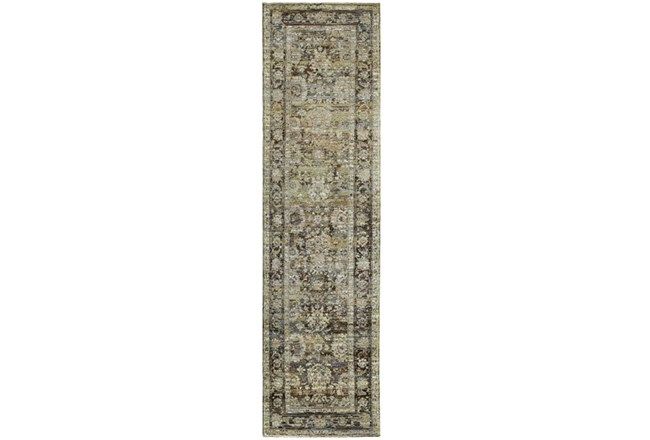 30X144 Rug-Mariam Moroccan Olive - 360