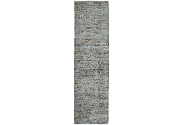 30X144 Rug-Elodie Moroccan Taupe - 360