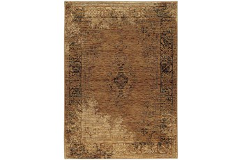 120X158 Rug-Adarra Moroccan Faded Gold