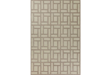 60X84 Rug-Brickwork Tan/Ivory