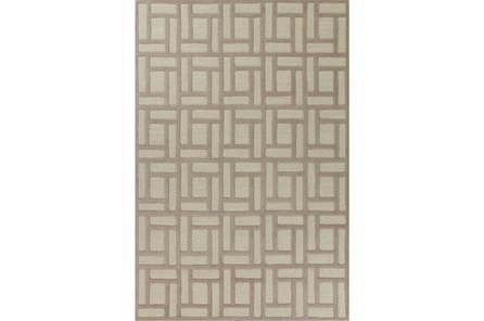 60X84 Rug-Brickwork Tan/Ivory - Main
