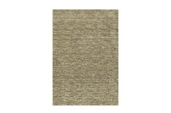 42X66 Rug-Wool Striations Fudge