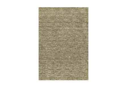 60X90 Rug-Wool Striations Fudge