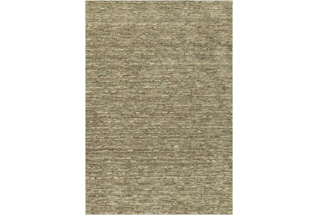 96X120 Rug-Wool Striations Fudge - 360