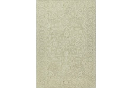 42X66 Rug-Caroline Tonal Pattern Linen