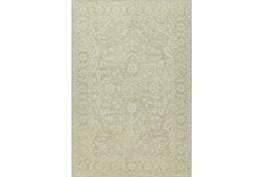 96X120 Rug-Caroline Tonal Pattern Linen