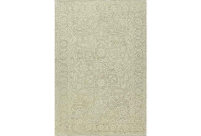 96X120 Rug-Caroline Tonal Pattern Linen - 360