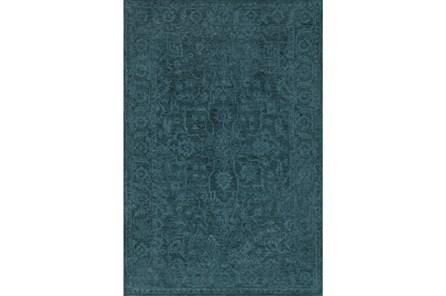 108X156 Rug-Caroline Tonal Pattern Navy