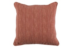 Accent Pillow-Heritage Linen Terracotta 22X22