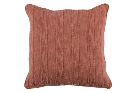 Accent Pillow-Heritage Linen Terracotta 22X22